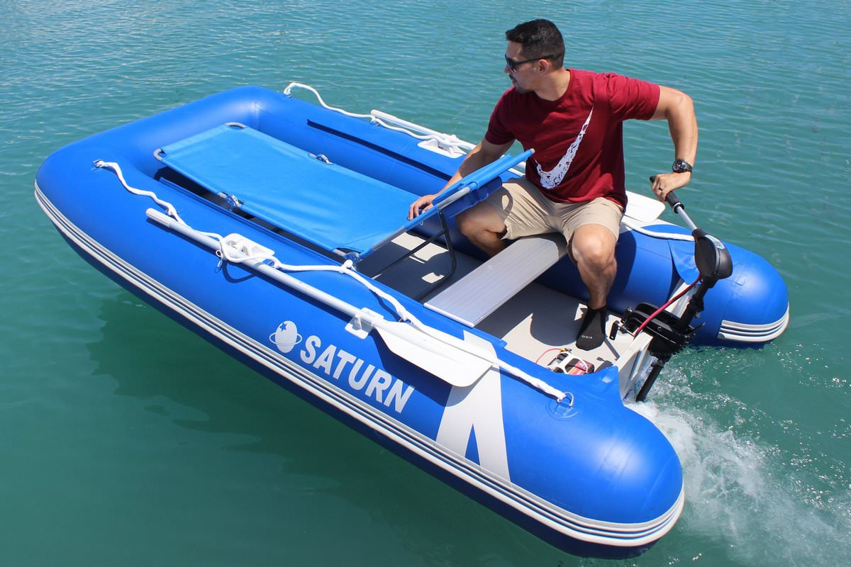 9 6' Inflatable Boxy Boats BB290