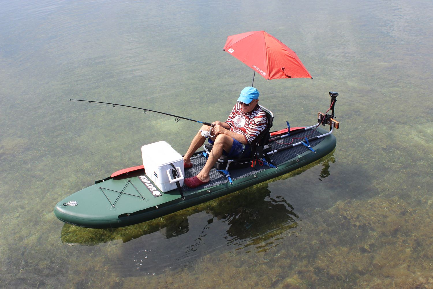 Saturn Pro Angler Fishing Inflatable Paddle Boards Sup On