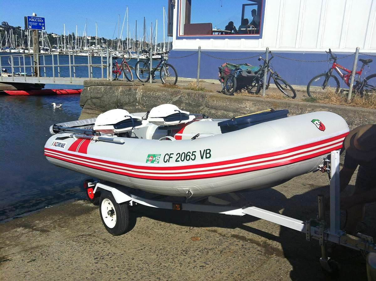 Customer's Picture of AM330 Inflatable Boat