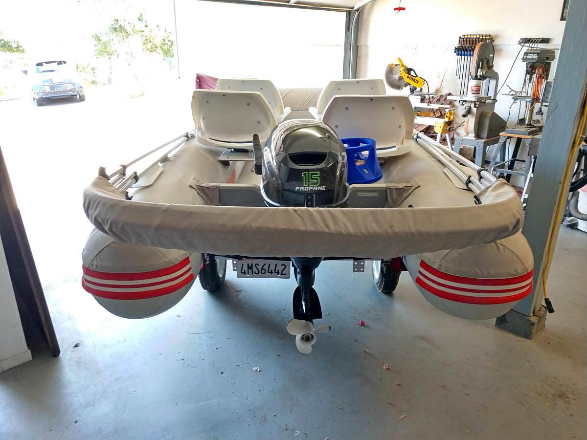 Bimini installed on AM boat