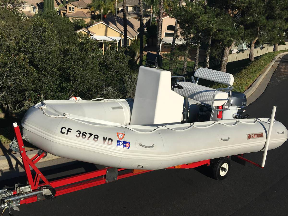 15' Inflatable Boats SD470