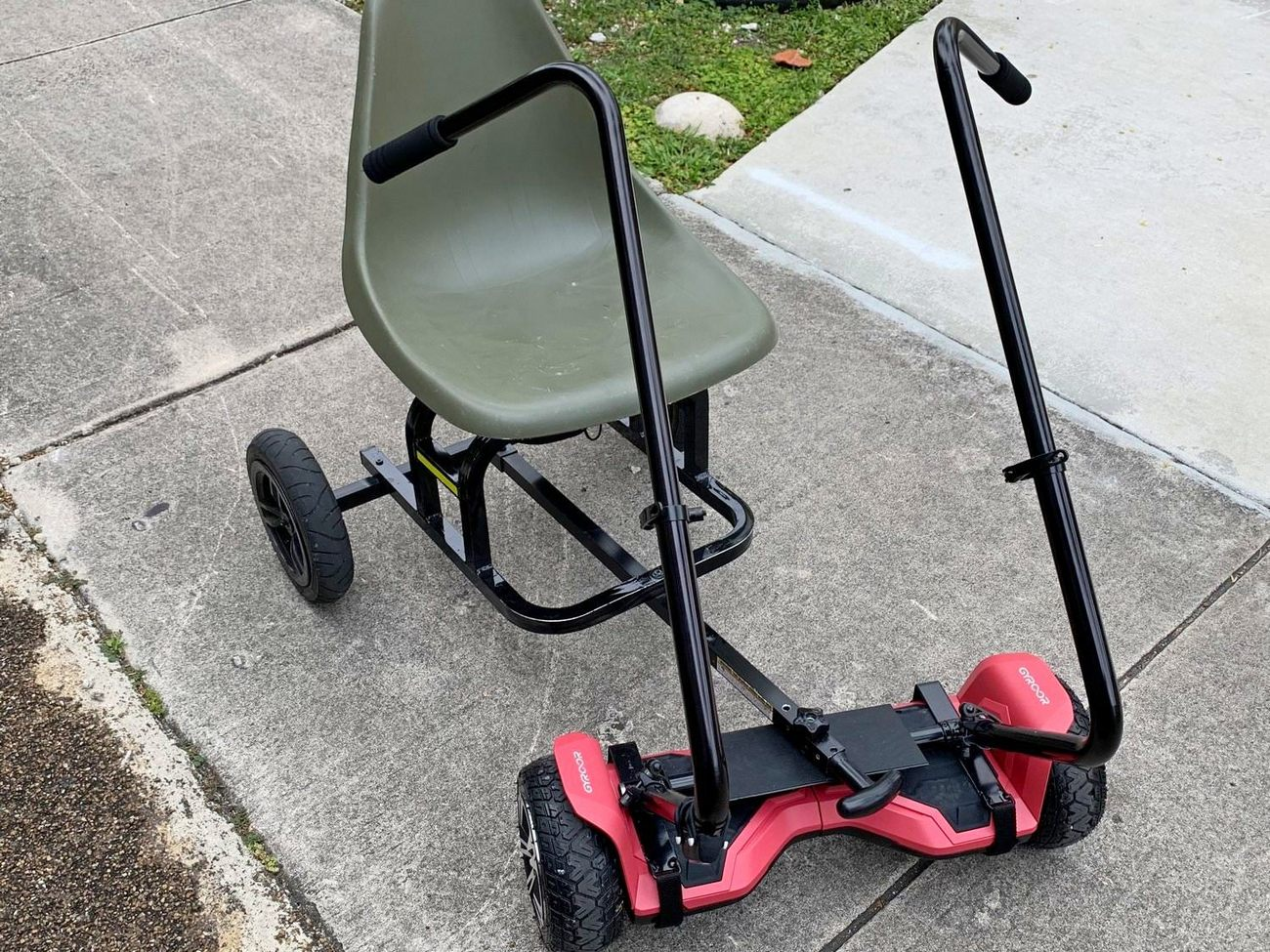 HoverSeat Deluxe with add on