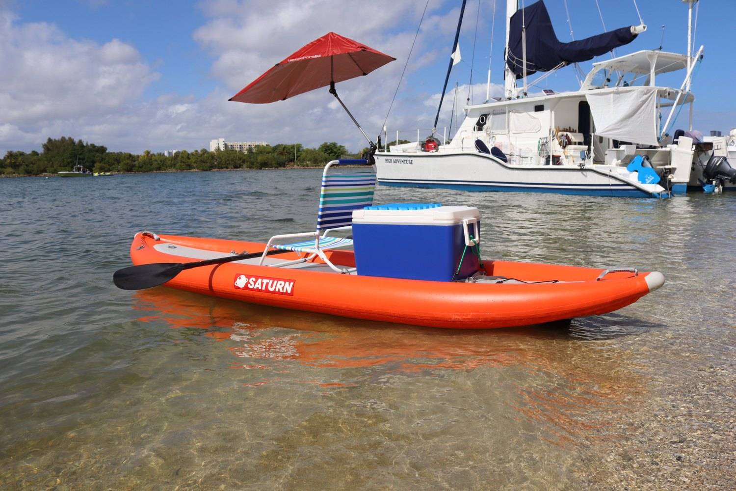 Single Set up inflatable kayak