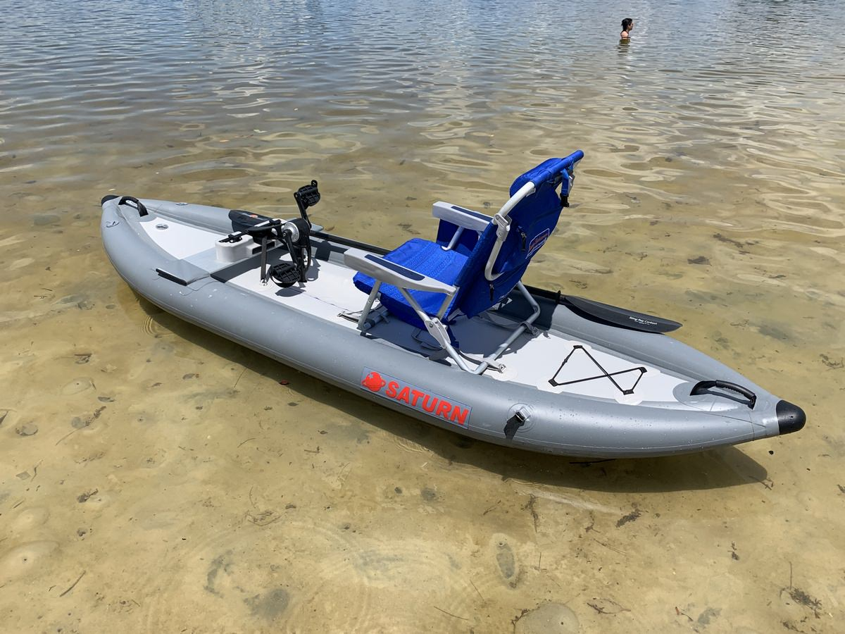 Inflatable Pedal Kayak