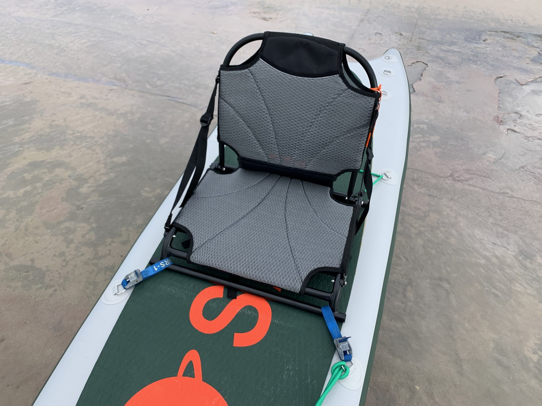 Aluminum SUP kayak seat