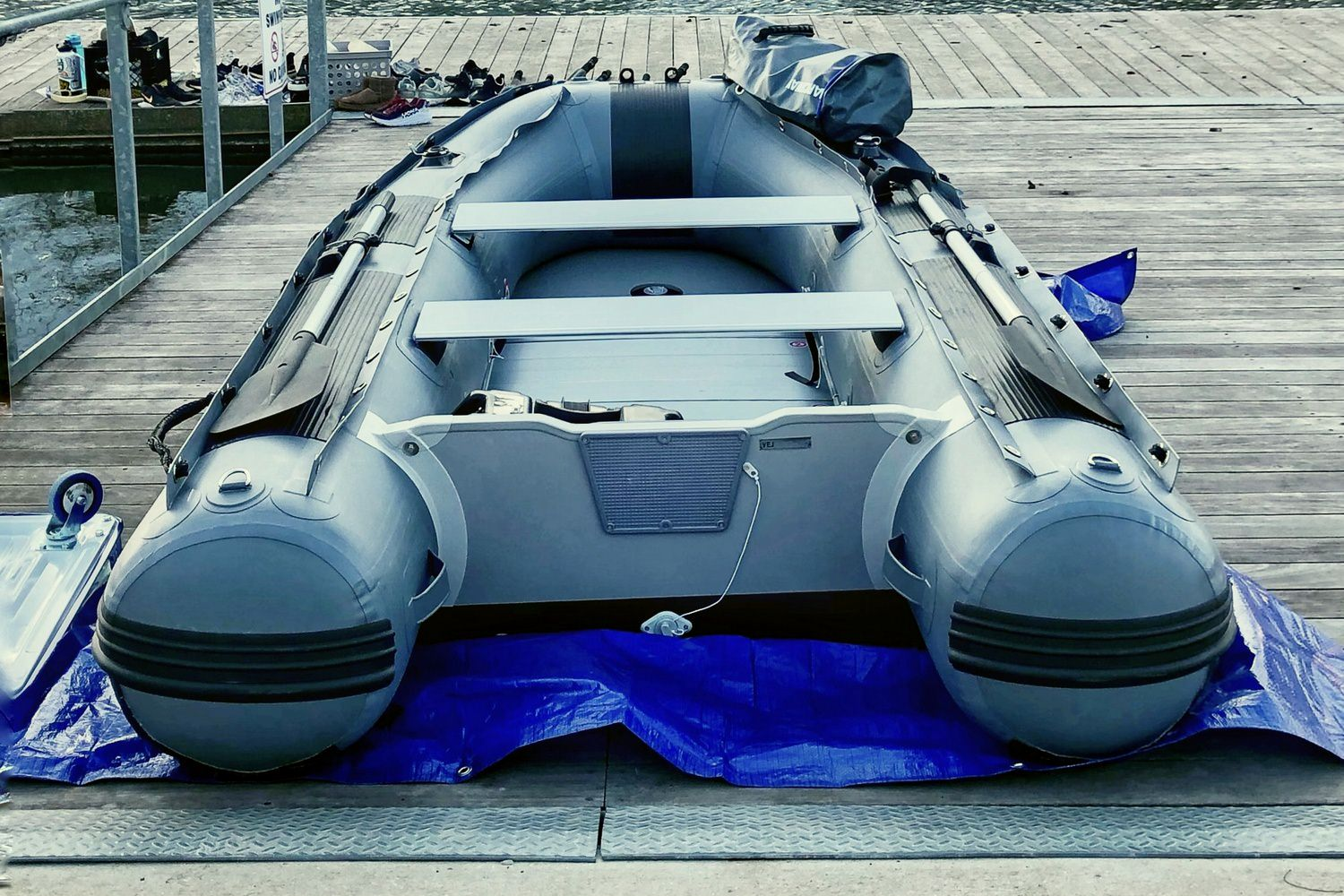 Customer's picture of FB300 boat