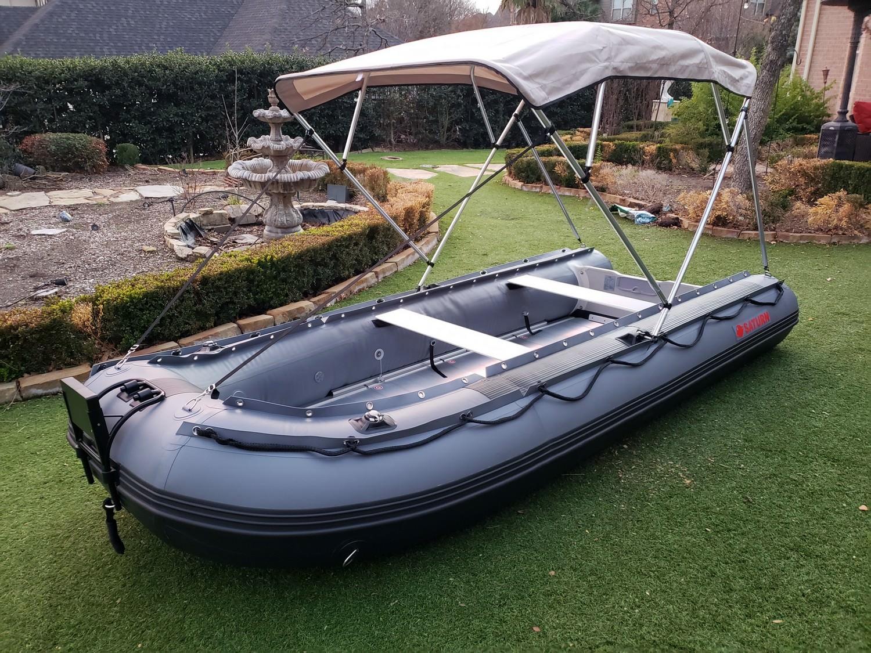 Bimini installed on FB365 boat