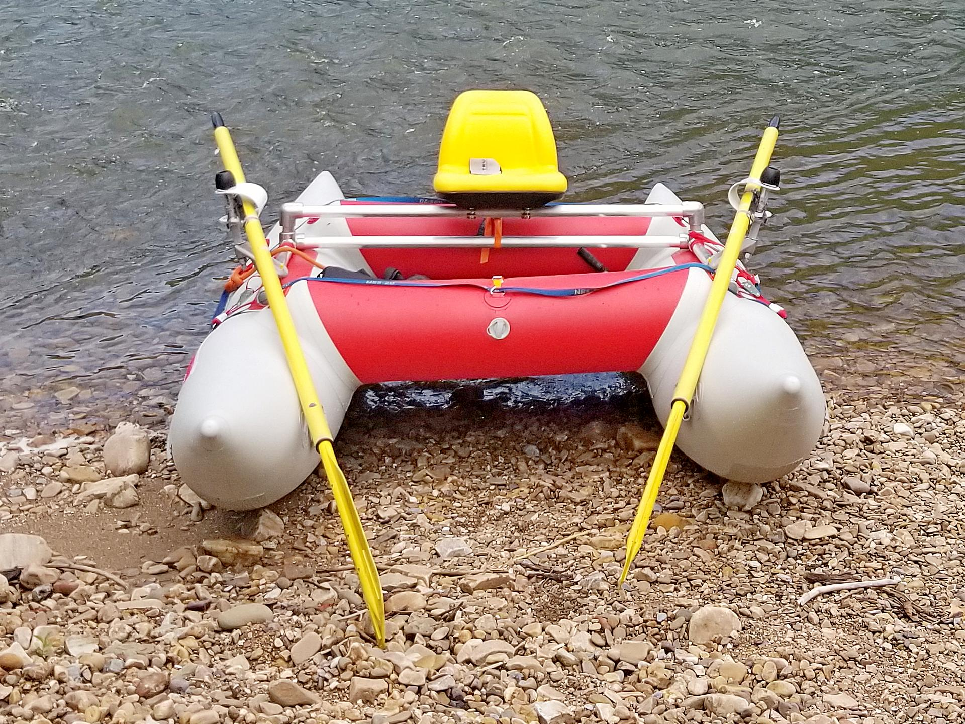 Saturn Inflatable Cataraft CR350
