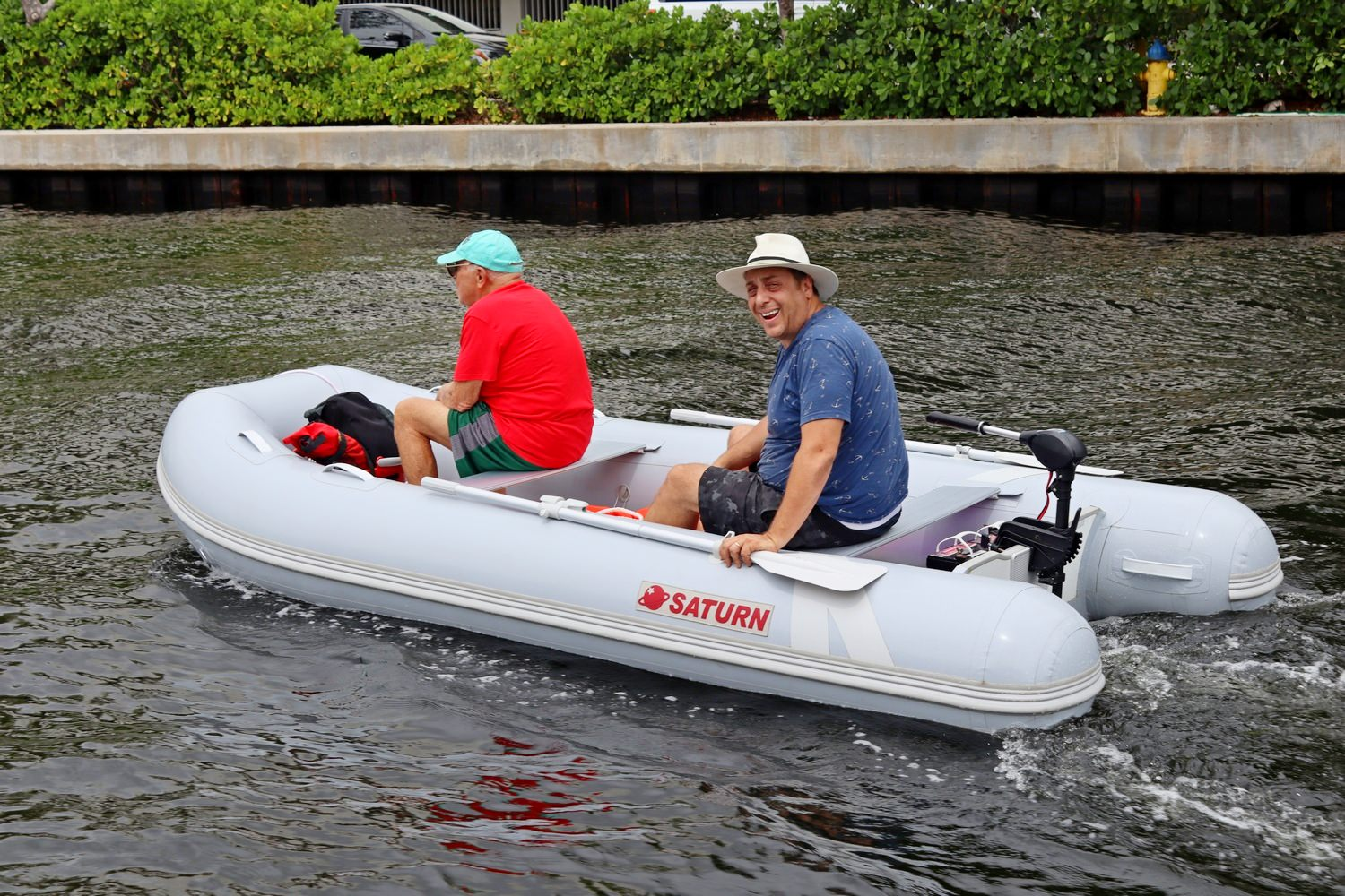 Saturn Hypalon Inflatable Boat HP360