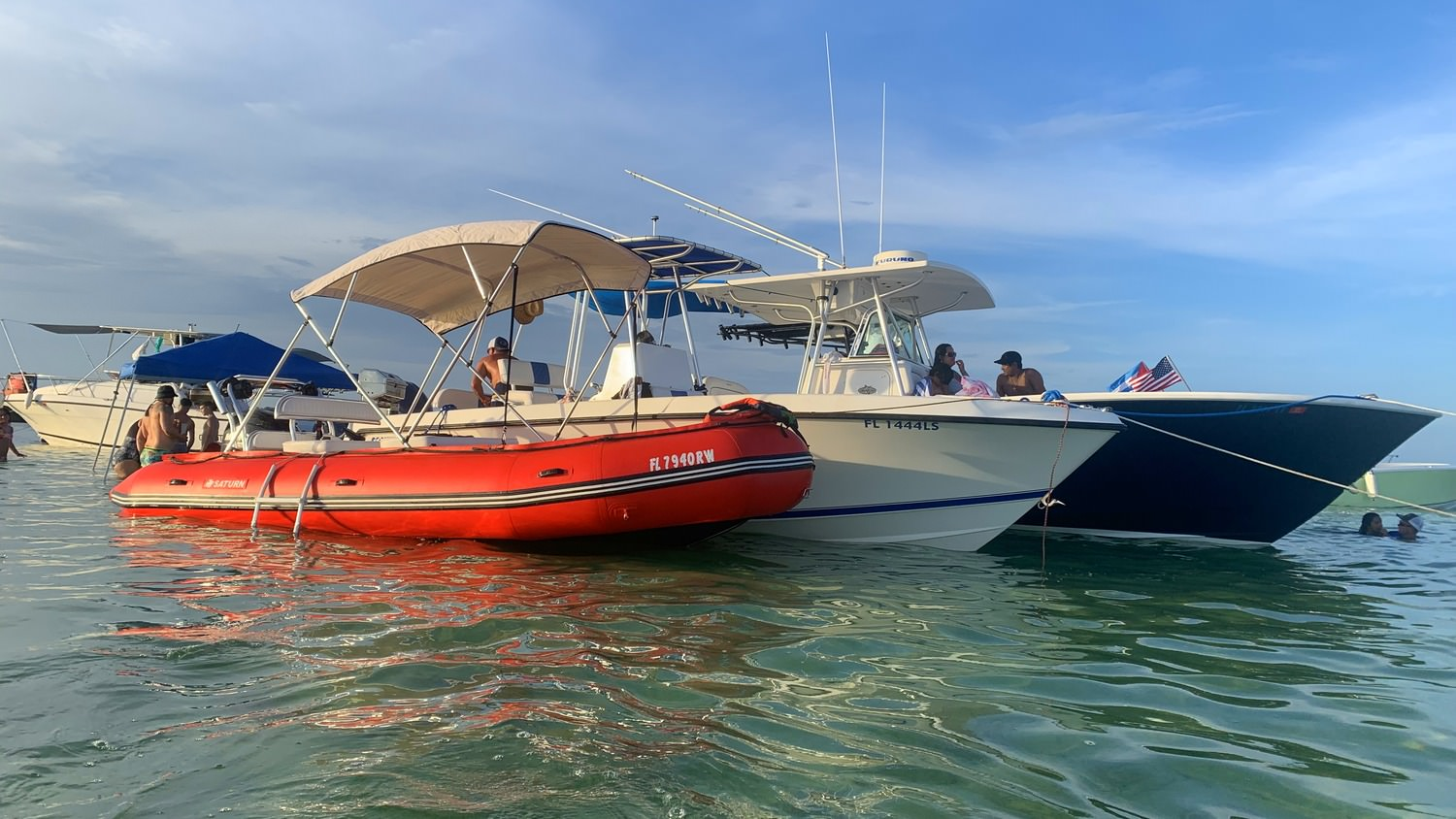 Customer's picture of SD488 boat