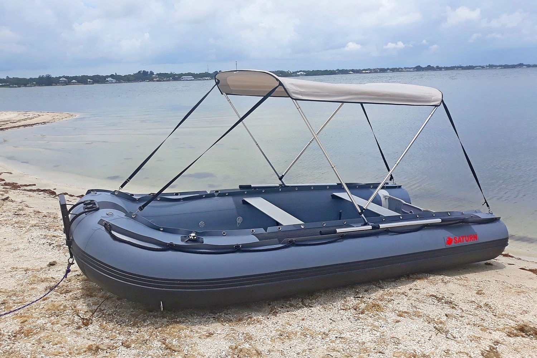 2-Bow bimini on FB boat