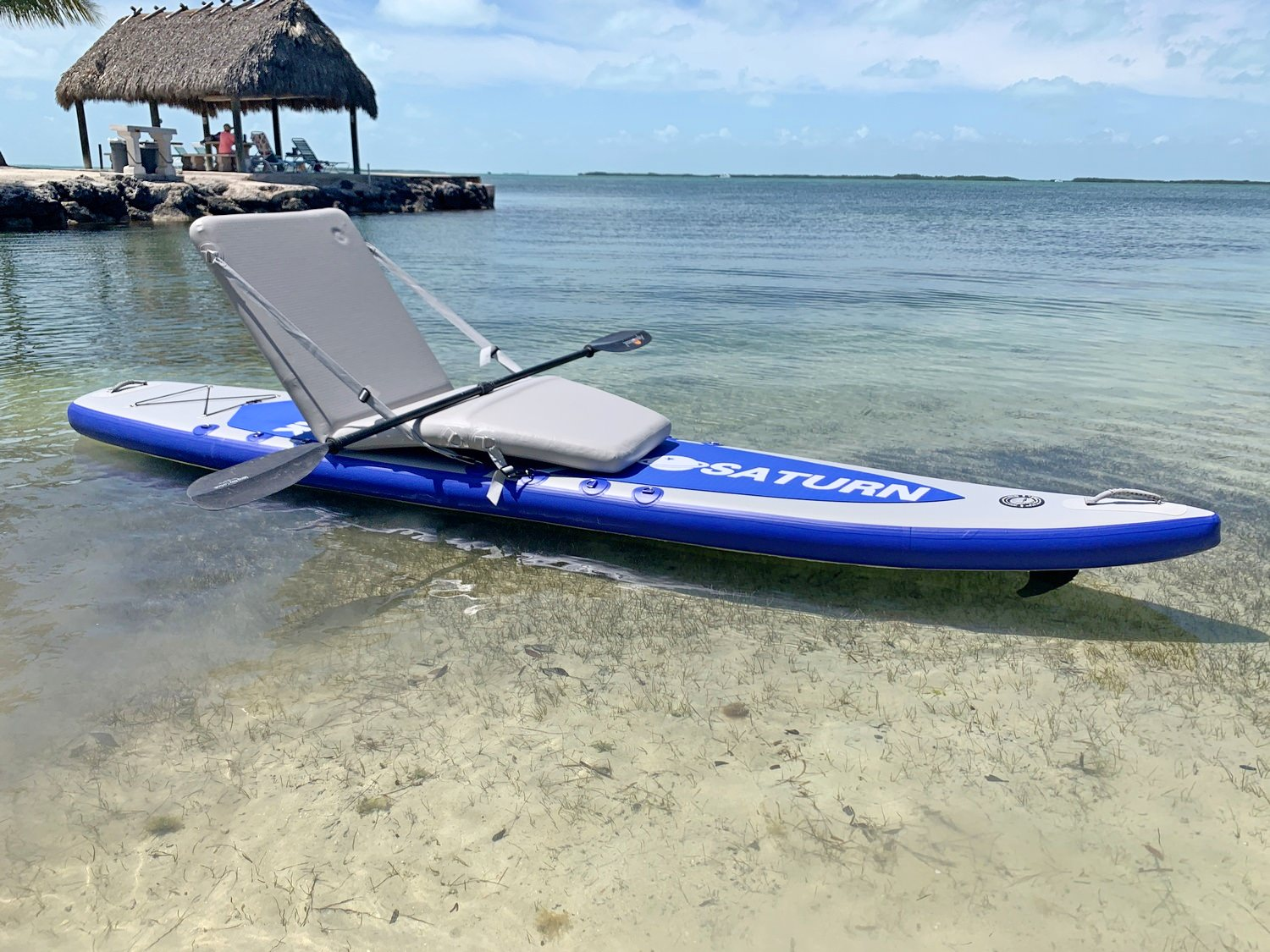 SUP414 with inflatable lounger