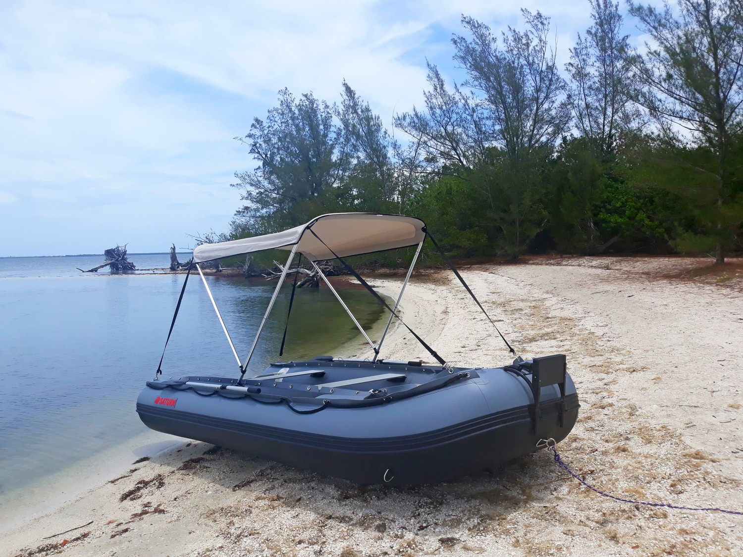 Customer's picture of FB385 boat