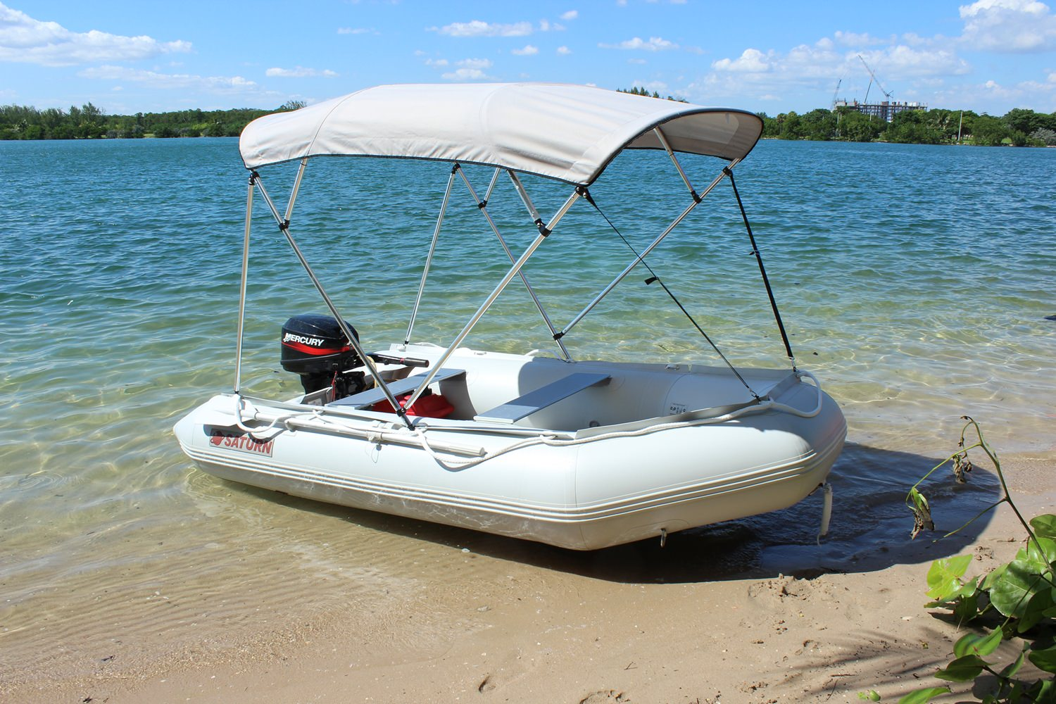 2016 11' Inflatable Boat, Dinghy, Tender - w/ Drop Stitch ...