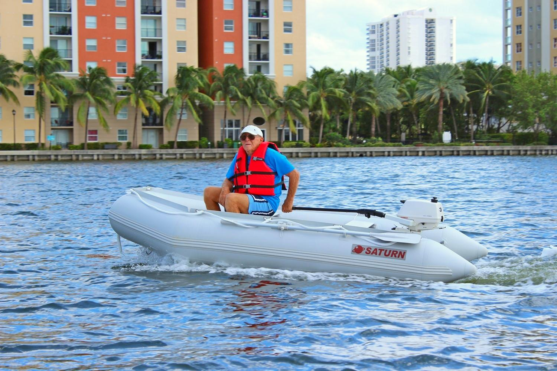 11' Saturn inflatable boat SD330 is BoatsToGo.com Best Seller!