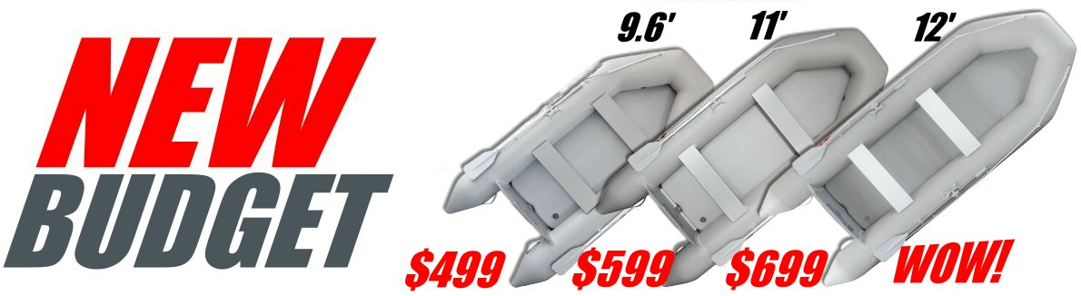 New Extra Affordable CB290 Inflatable Boats