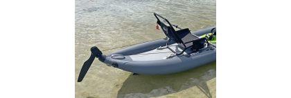 DIY kayak rudder