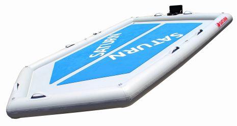 Inflatable Motor Island Platform Dock