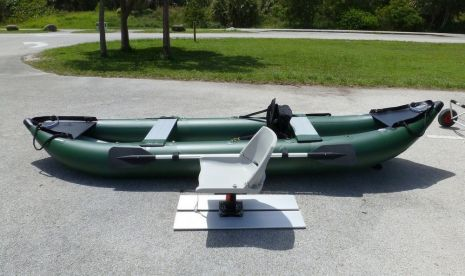 Do-It-Yourself Fishing Seat Platform