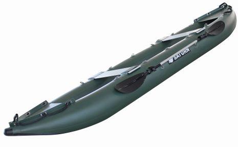 Saturn 14' Inflatable Fishing Kayaks FK430