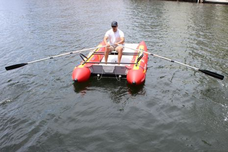 Rowing Raft Frame