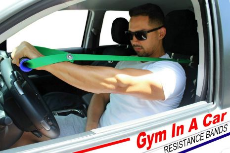 Gym In Car Resistance Bands Set
