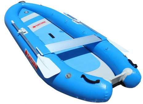 Saturn Inflatable Kayak SUP Motor Boat