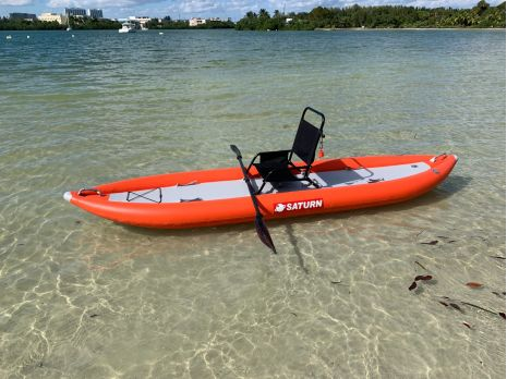 Saturn Tandem Inflatable Kayak