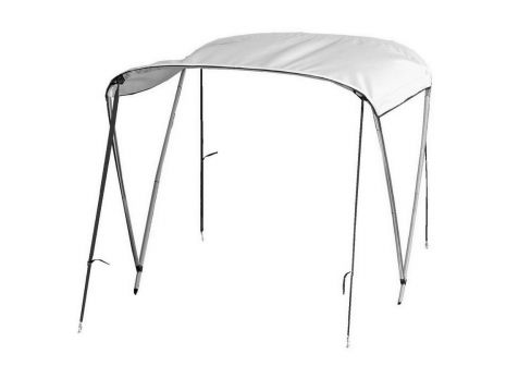 2-bow Deluxe Folding Bimini Top Sun Shade