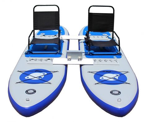 Inflatable SUP Catamaran Paddle Boards Set