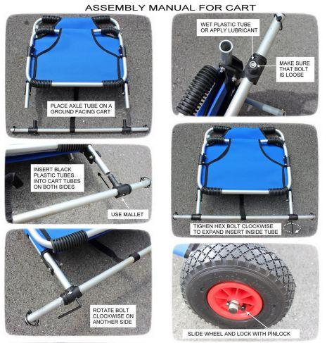 Cart Assembly steps