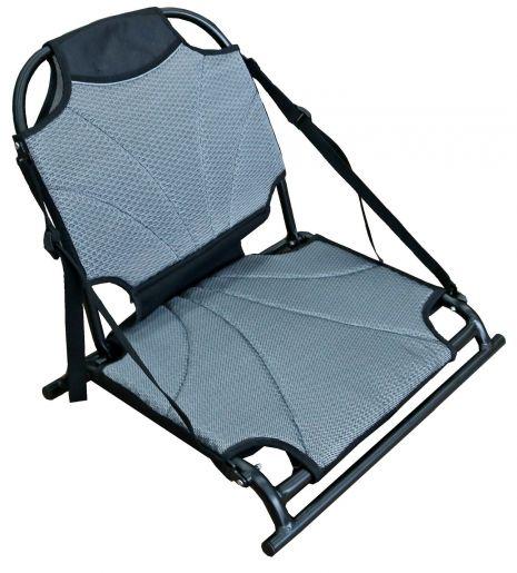 Aluminum kayak seat