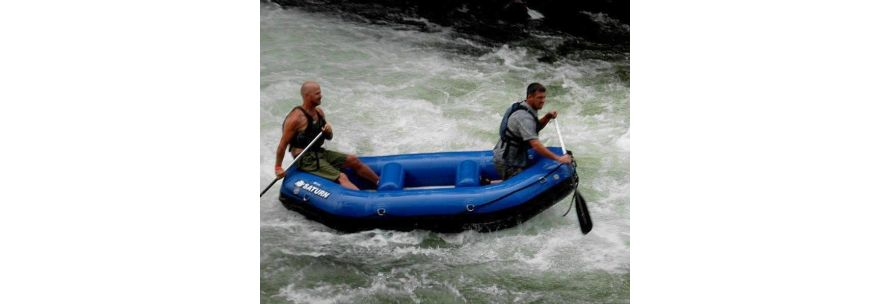 Saturn Inflatable River Raft