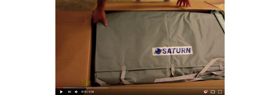 Unboxing of Saturn Inflatable Boat