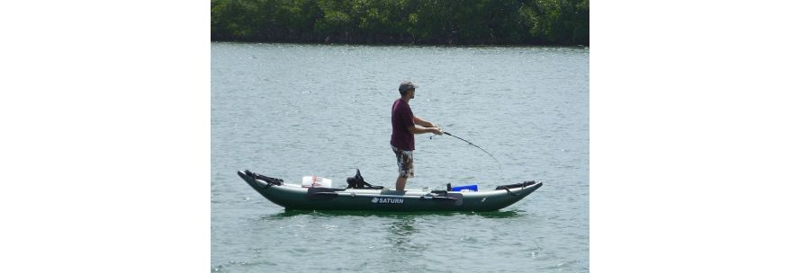 Saturn Inflatable Fishing Kayaks
