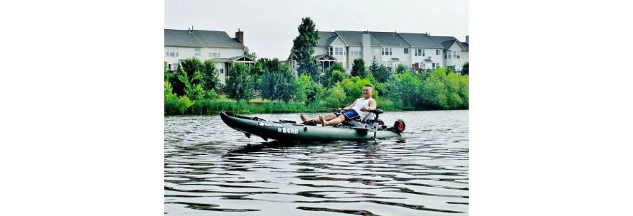 Saturn Inflatable Fishing Kayak