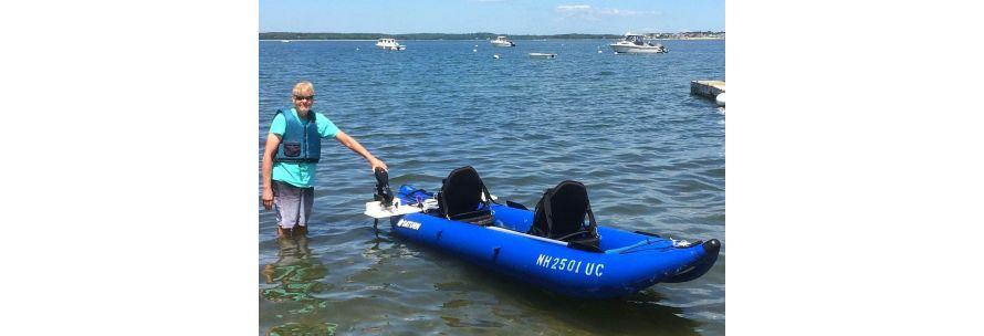 Saturn Ocean Inflatable Kayak