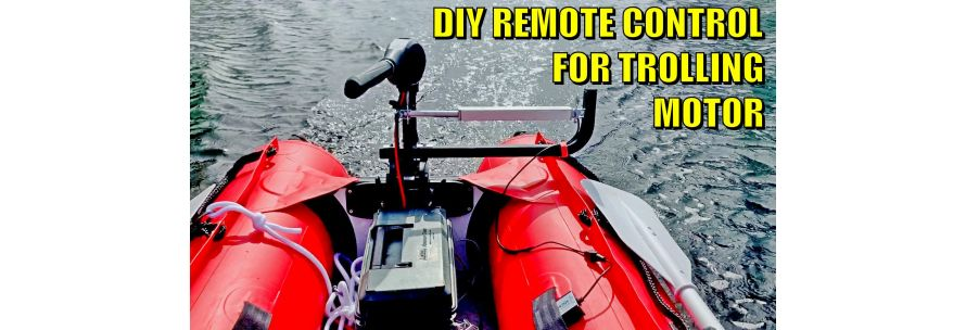 DIY instructions for remote steering for electric trolling motor using Linear Actuator.